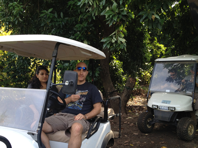 טיולי הדן-רכבי גולף